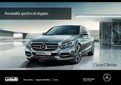 Design elegante e raffinato, finiture e #materialiprestigiosi, #caratteresportivo e moderno: #MercedesBenz #ClasseC è il tuo biglietto da visita. Distinguiti.