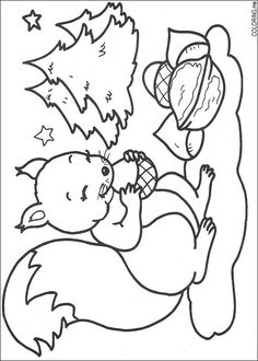 266 Christmas printable coloring pages for kids. Find on coloring-book thousands of coloring pages. Camping Coloring Pages, Animal Coloring Pages, Coloring Book Pages, Printable Coloring Pages, Coloring Pages For Kids, Squirrel Coloring Page, Forest Animal Crafts, Christmas Squirrel, Squirrel Pictures