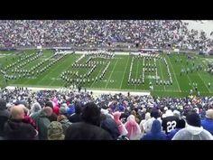 The Penn State Blue Band's military appreciation show. Recorded at Beaver Stadium, October 2015 versus Army. Beaver Stadium, College Checklist, Halftime Show, Blue Band, Appreciation, Military, Youtube, Youtubers, Military Man