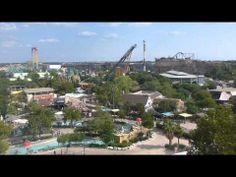 Parques Aquáticos no Texas: o Six Flags Fiesta Texas San Antonio