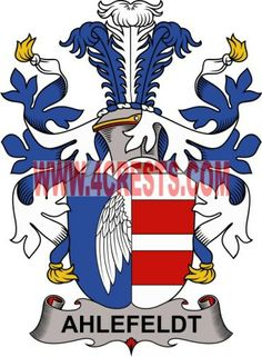 ahlefeldt family crest coat of arms