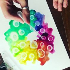 Find nine unique watercolor techniques perfect for kids and adults.