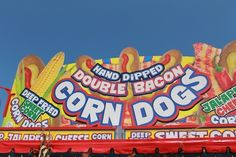 DOUBLE BACON CORN DOG!   17 Heart-Stopping Foods At The Iowa State Fair