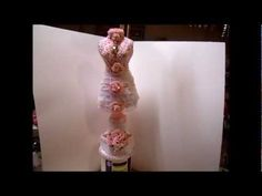 Shabby Chic Dressform Tutorial, Part 2 - jennings644 - YouTube