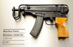 Skorpion Model 61 (7.65mm)