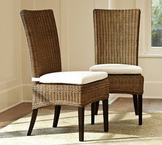 I love these chairs.  Hopefully they will be in my new home in Arizona.  LOL  Jacquelyne Dining Chair #potterybarn
