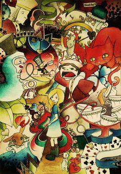 Alice-In-wonderland-artwork-7