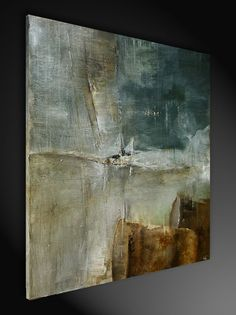 """Malerei auf Leinwand bildende Kunst, Sebastian Hartmann: """"Doppio"""" - Inspire Art - Galerie für abstrakte Kunst"""