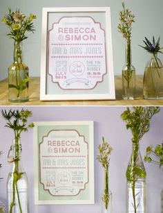 Retro wedding style from Wedding in a Teacup