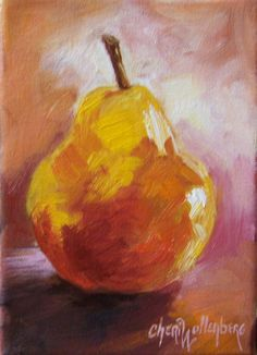 pear painting... I want to own this