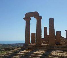 Dia 10: sol de rachar, vale dos templos, Agrigento! 🔥 #janelaparaomundo #italia…