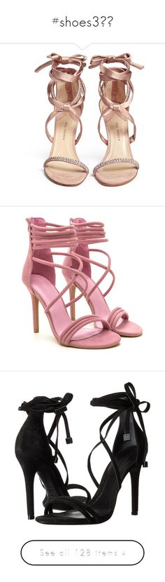 """""""#shoes3👟👠"""" by momochen95 ❤ liked on Polyvore featuring shoes, sandals, heels, zapatos, evening shoes, evening sandals, special occasion sandals, holiday shoes, cocktail shoes and sapatos"""