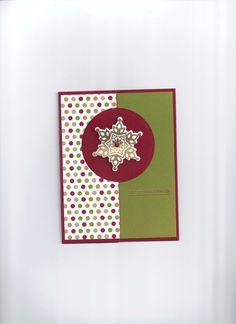 Festive Flurry, Thinlits Circle Card