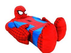 Incredibeds Spider-Man Bed Cover. They are coming out with the Avengers!