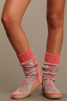Nordic knit booties / Gypsy