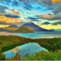 Double tap if you love this - - Featured  @jimmyedward25 Please check out his amazing work. - - - Lokasi Danau Laguna #ternate #nusantarakita #ternateisland #ternateindonesia #moluccasea #molucca #mountains #mountain #stunningview #views  To travel with us please follow: @travelho_ Tag: #travelho