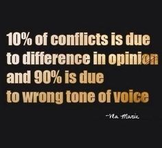 Tone of your voice