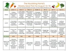 FREE whole food meal plans with links to the recipes (breakfast, lunch and dinner included)!