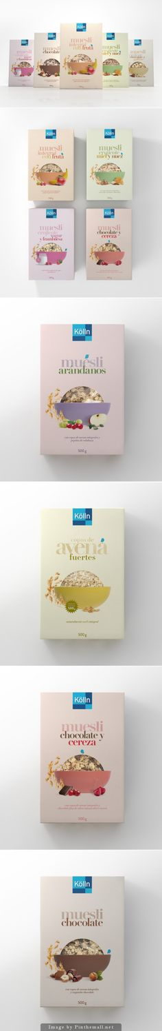 Kölln #Oats, Creative Agency: Lavernia & Cienfuegos - http://www.packagingoftheworld.com/2014/10/kolln-oats.html