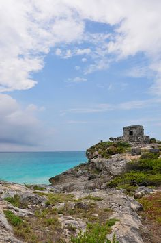 The ruins of Tulum on the Riviera Maya, Mexico