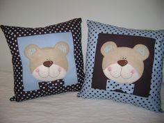 Almofada Ursos, pode ser feita em outros temas e cores R$65,00