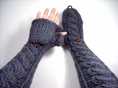 Short to Extra Long Convertible Mittens, Fingerless Gloves, 50 to 72 dollars