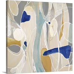 Great Big Canvas Obscure Dazzle II by Joshua Schicker Painting on Wrapped Canvas
