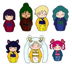 Sailor Moon Kokeshi