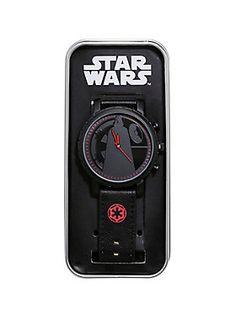 So. Dark. // Star Wars Darth Vader Silhouette Watch