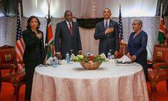 Awesome Photos:State Banquet For Obama,Kibaki and Auma invited   Diaspora Messenger News Media