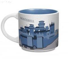 $15. Game of Thrones Winterfell Mug