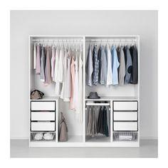 PAX Lemari pakaian - engsel standar, 200x60x201 cm - IKEA