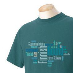 Finnish Hound Garment Dyed Cotton Tshirt by WryToastDesigns, $25.00