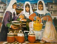 Turgut Atalay (1918 – 2004) – Pazarcı Kızlar