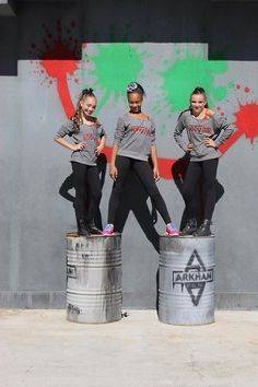 Maddie Ziegler, Nia Frazier, and Kendall Vertes from Dance Moms