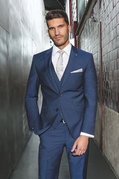 Slim Fit Wedding Men Suits - Mens Suits Tips Planning your #VegasWedding? Make it easy and rent a tux from Downtown Tux and Gown.