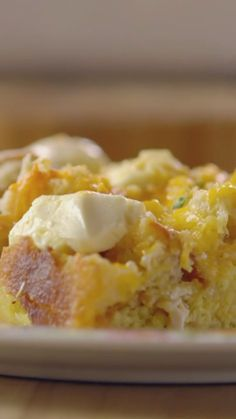 Ree's make-ahead breakfast omelet casserole is perfect for sleepy mornings!