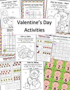 Valentine's Day Bundle Common Core Aligned Activities & More!