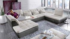 Erstaunlich Wohnzimmer Couch U Form
