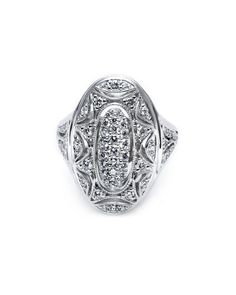 Tacori.... Perfect right hand ring!