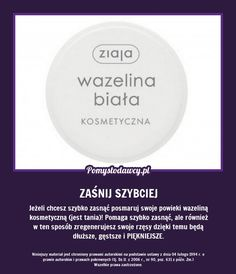 jesli chcesz szybko pod - Szukaj w Google Beauty Nails, Diy Beauty, Night Routine, Natural Cosmetics, Good Advice, Healthy Tips, Self Help, Tricks, Body Care