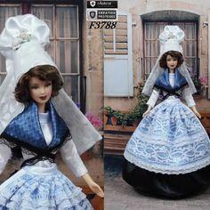 """Robe barbie """" n°4 basse-normandie """" tenue pour poupée barbie…"""