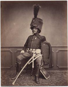 Monsieur Moret, 2nd Regiment, 1814-15 Image: Brown University Library c. 1858: Photos of Veterans of the Napoleonic Wars
