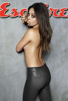 Mila Kunis Sexiest Woman Alive by U.S. Magazine Esquire