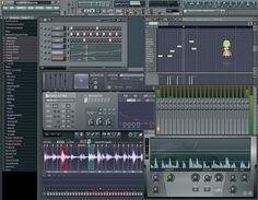 This is FL Studios or Fruity Loops. It's a beat making software. I find myself lost in time when making a beat and I'm striving to become better. -Mastery