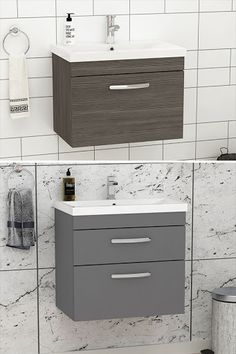 Presenting another single or double drawer bathroom vanity to your home can change your home, giving it the appearance of a rebuild, whether it's a small visitor's bathroom or a main washroom. Check more thoroughly. ............................................................................................................................................#VanityUnit #BathroomDesign #WallHungVanityUnit