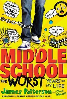 """Middle School: The Worst Years Of My Life by James Patterson. In Theaters October 7, 2016. """"Imaginative quiet teenager Rafe Katchadorian is tired of his middle school's obsession with the rules at the expense of any and all creativity. Desperate to shake things up, Rafe and his best fr"""
