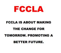Spread the red and Join FCCLA!