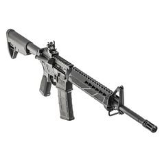 """Springfield Armory Saint AR-15 Semi-Auto Rifle 5.56x45mm 16"""" Barrel 30 Rounds - ST916556B  Springfield Saint 5.56mm AR-15 Rifle for sale online at a great discount price with free shipping included only at our online store TargetSportsUSA.com. Target Sports USA has the entire line of Springfield guns for sale including this brand new Saint AR15 rifle."""