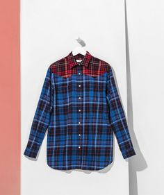 Gigi Hadid Tommy Hilfiger Collection: Best Basics to Shop Now - plaid shirt